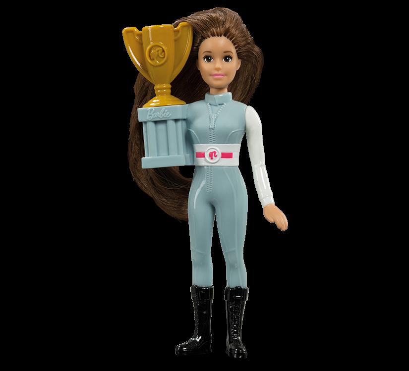 Race Car Barbie