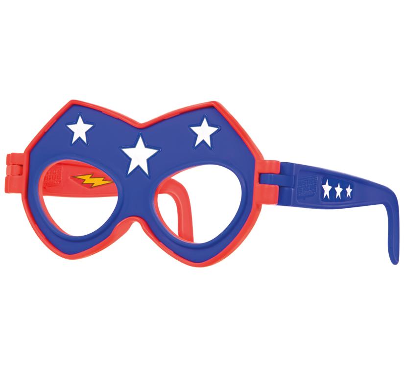 Reversible Flash and Stargirl Mask