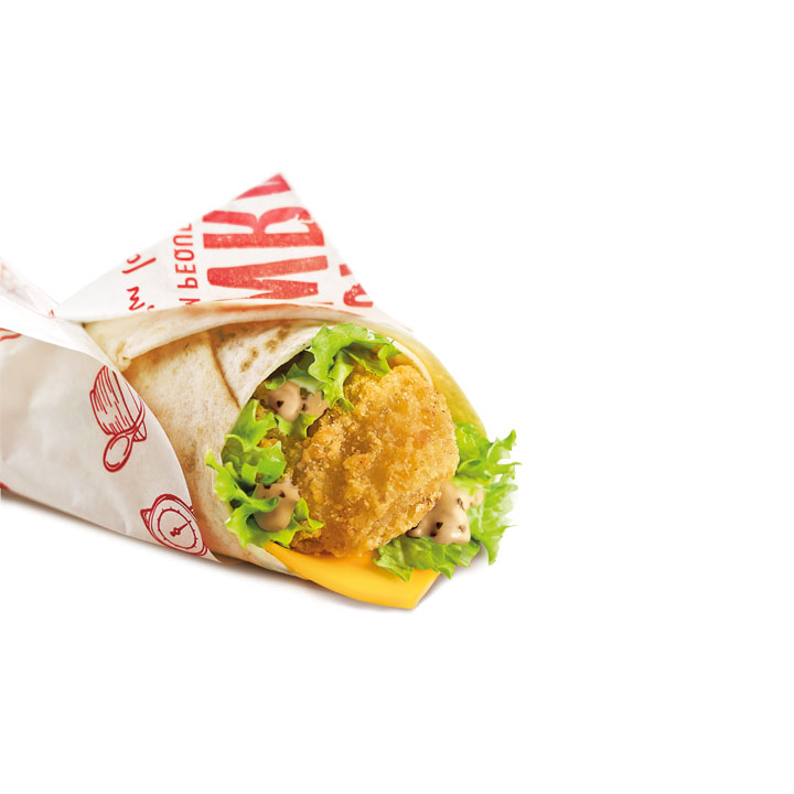 Snack Wrap Chicken Cheese