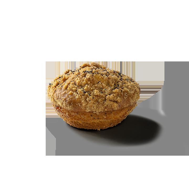 Muffin Topper de Limão com Sementes de Papoila