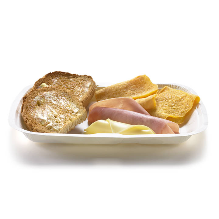 Big Breakfast Ham & Cheese